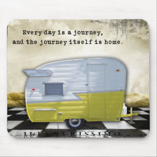 Vintage Trailer Shasta Journey Mouse Pad