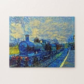 Vintage Train Jigsaw Puzzle