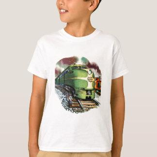 Vintage Train T-Shirt
