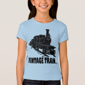 Vintage Train Transport Kids T-Shirt Clothing