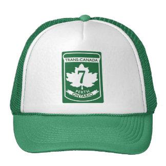 Vintage Trans-Canada HWY#7 Perth Cap