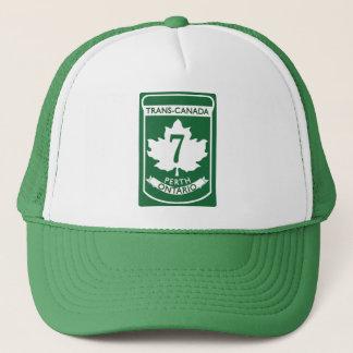 Vintage Trans-Canada HWY#7 Perth Trucker Hat
