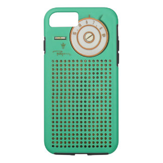 Vintage Transistor Radio iPhone 8/7 tough case