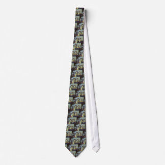 Vintage Transportation and Travel Ships Steamboats Tie