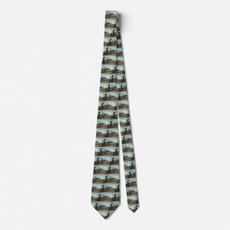 Vintage Transportation, Coal Train Locomotive Tie