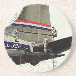 Vintage Transportation, Maintenance for Airplanes Coaster