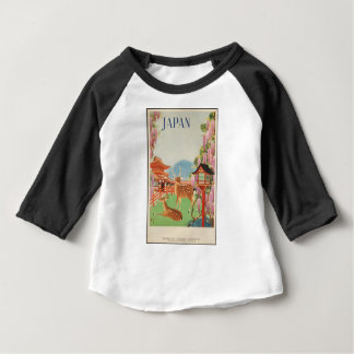 Vintage Travel 1930s Japan Baby T-Shirt