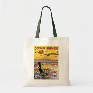 Vintage Travel, Airplanes Air Show, Lyon, France Bags