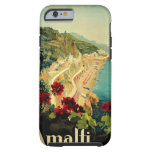 Vintage Travel, Amalfi Italian Coast Beach iPhone 6 Case