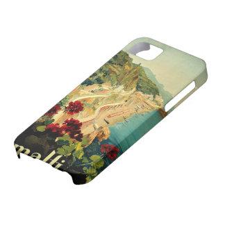 Vintage Travel, Amalfi Italian Coast Beach iPhone 5 Covers