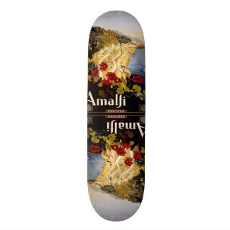Vintage Travel Amalfi Italy skateboards