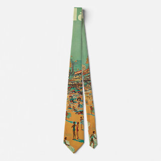 Vintage Travel, Atlantic City Resort Beach Blonde Tie