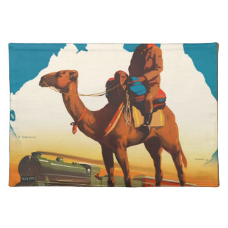 Vintage Travel Australia Placemat