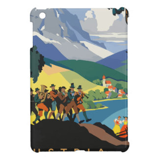 Vintage Travel Austria iPad Mini Case
