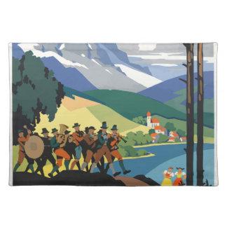 Vintage Travel Austria Placemat