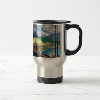Vintage Travel Austria Travel Mug