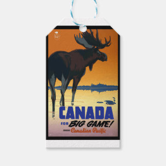 Vintage Travel Canada Gift Tags