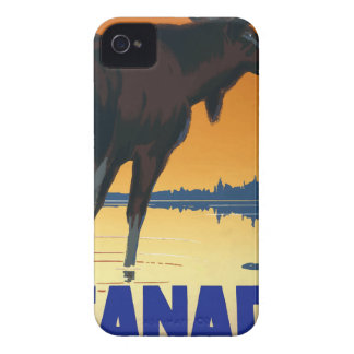 Vintage Travel Canada iPhone 4 Cases