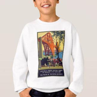 Vintage Travel England And Scotland Sweatshirt