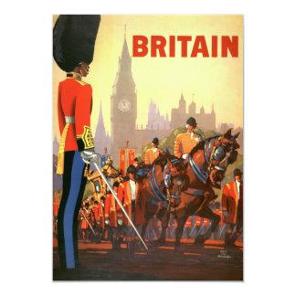 Vintage Travel, England Royal Guard Invitation