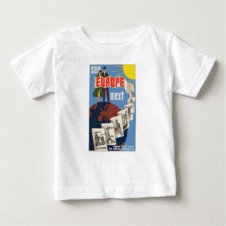 Vintage Travel Europe Baby T-Shirt