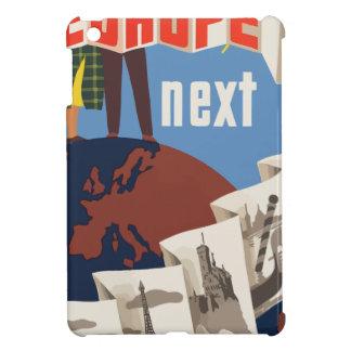 Vintage Travel Europe iPad Mini Cover