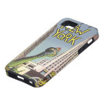 Vintage Travel, Famous New York City Landmarks Case For The iPhone 5