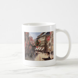 Vintage Travel Flag Day Denmark Mug