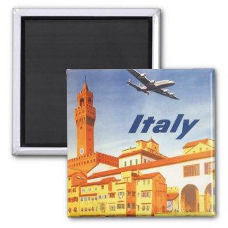 Vintage Travel Florence Firenze Italy Bridge River Refrigerator Magnet