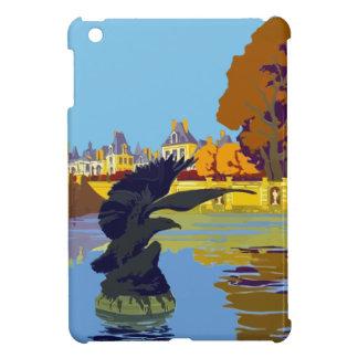 Vintage Travel Fontainebleau Paris France iPad Mini Case