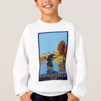 Vintage Travel Fontainebleau Paris France Sweatshirt