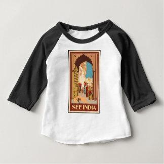Vintage Travel India Baby T-Shirt