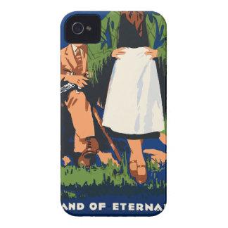 Vintage Travel Ireland iPhone 4 Case
