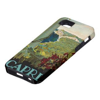 Vintage Travel, Isle of Capri, Italy Italia Coast iPhone 5 Covers