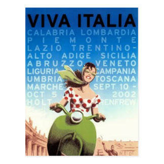 Vintage travel Italy - Postcard