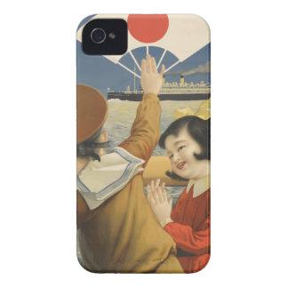 Vintage Travel Japan iPhone 4 Case-Mate Case