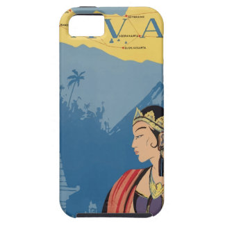 Vintage Travel Java Indonesia Case For The iPhone 5