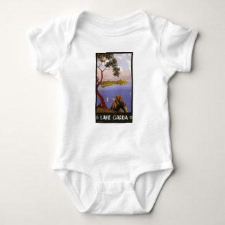 Vintage Travel Lake Garda Italy 1924 Baby Bodysuit