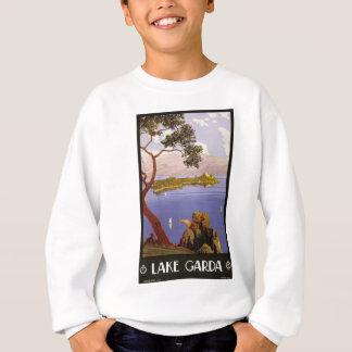 Vintage Travel Lake Garda Italy 1924 Sweatshirt