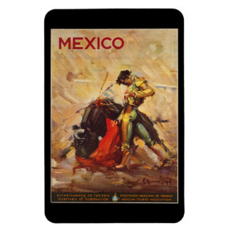 Vintage Travel Mexico Bull Fighting Matador Magnet