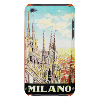 Vintage Travel Milano, Italy iPod Touch Case