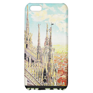 Vintage Travel Milano, Italy iPhone 5C Covers