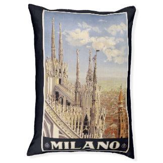 Vintage Travel Milano Milan Italy dog beds