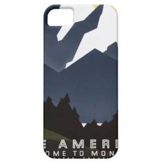 Vintage Travel Montana America USA iPhone 5 Cases