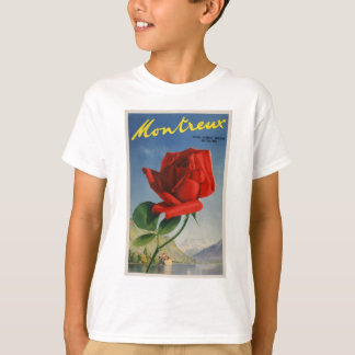 Vintage Travel Montreux Switzerland T-Shirt