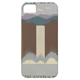 Vintage Travel National Parks iPhone 5 Cover