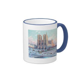 Vintage Travel Notre Dame de Paris Mug