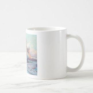 Vintage Travel Notre Dame de Paris Coffee Mug