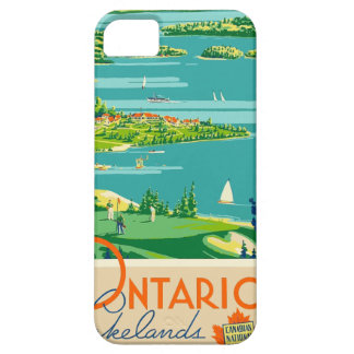 Vintage Travel Ontario Canada iPhone 5 Cover