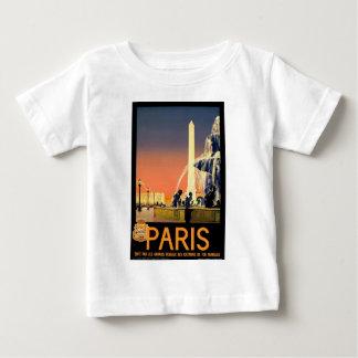 Vintage Travel Paris France Baby T-Shirt